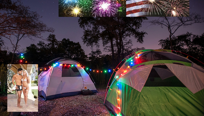 July 4th. Celebration AND Wedding Reception Camp Out