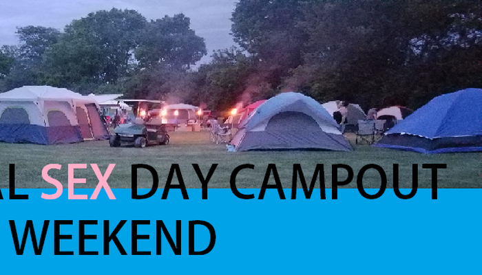 Sex Party in honor of national sex day/Camp out